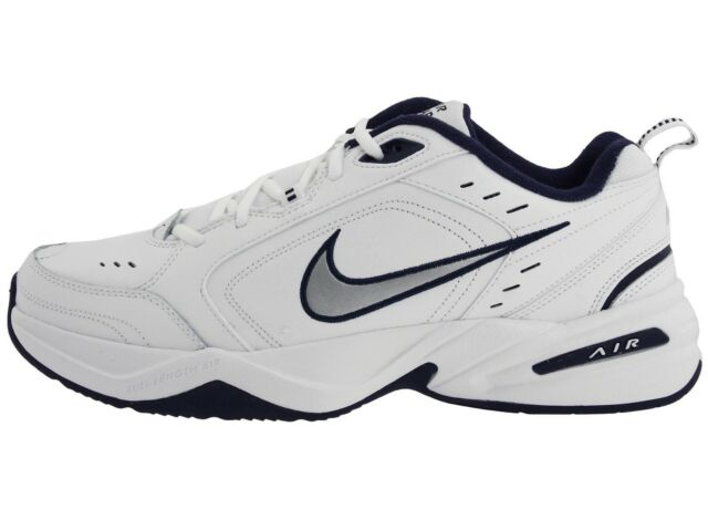 online retailer f49a5 faa8d Nike Men s Air Monarch IV Running Shoes (415445 102) White Navy Sizes 8.5