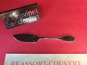 Spreader-14-5-cm-Old-Paris-Ravinet-D-Enfert-Beautiful-Condition-Metal-Silver