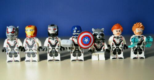 Lego Marvel Avengers Endgame Minifigures Lot  76124 76126 76123
