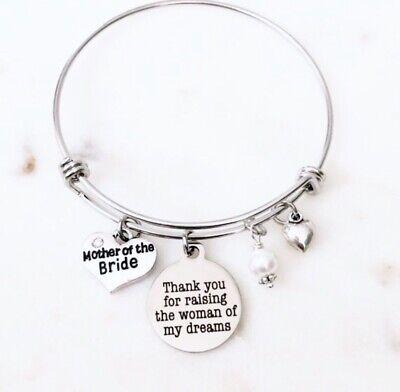 BNQL Raising My Tribe Charm Bracelet for Mom Mother of Multiple Kids Gift