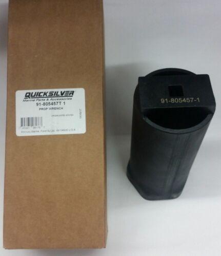 Wrench Tool 91-805457T1 Mercruiser OEM Bravo 3 III Propeller Prop Nut Socket