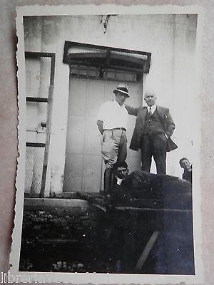 Vecchia foto d epoca fotografia antica CAMPAGNA POMODORO 1940 Salerno contadini