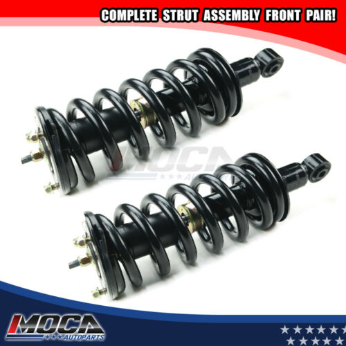 2 Front Complete Shocks Struts Assembly Kits For 2005-2015 Nissan Armada 4WD