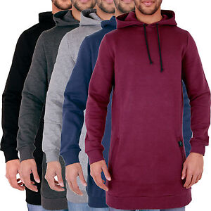 Mens-Longline-Plain-Hoody-Sweatshirt-ARRESTED-DEVELOPMENT-XS-S-M-L-XL-2XL-3XL