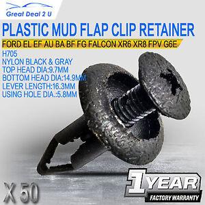 50pcs-For-Ford-EF-AU-BA-BF-FG-Plastic-Clip-Retainers-XR6-XR8-FPV-G6E-Falcon