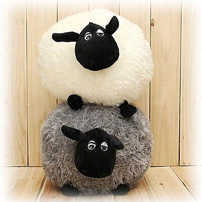 Lovely Soft Stuffed Sheep Plush Pillow Sofa Home Cushion Kid Baby Toy Gift HOT