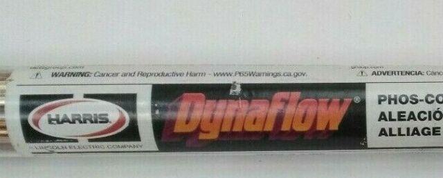 Harris D620F1 Dynaflow Brazing Alloy 28 Stick Tube