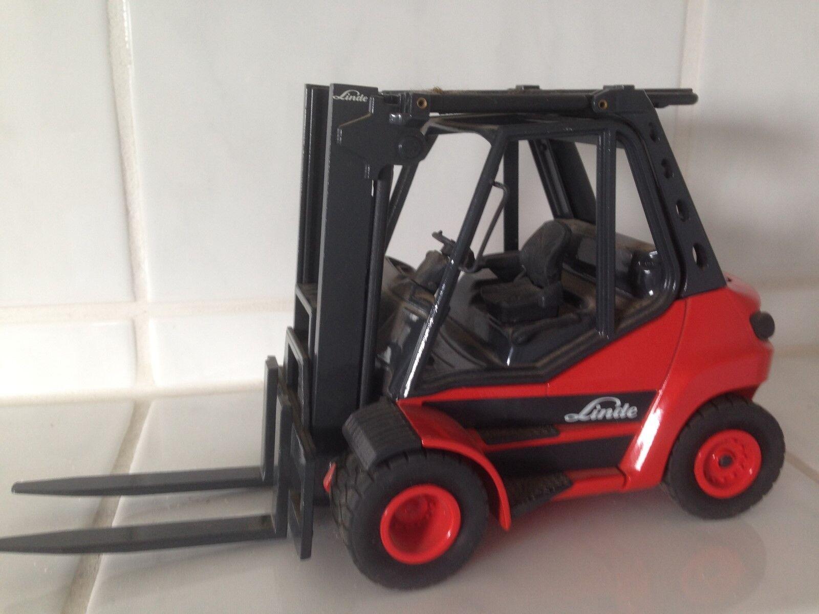 Linde Conrad camiones pesados H50-80 1100 Forklift MontaCochegas Muy Raro