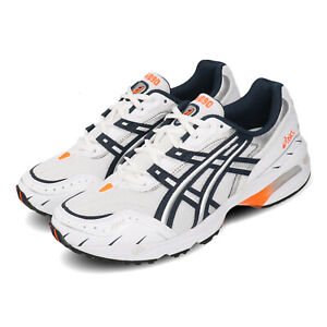 Asics-Gel-1090-White-Navy-Orange-Mens-Womens-Retro-Running-Shoes-1021A275-100