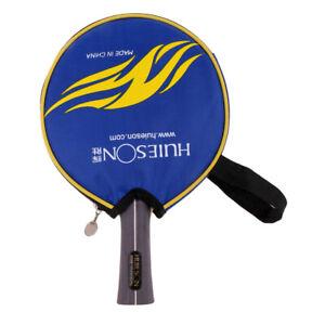 Tischtennistasche Blau Schwarz Tischtennis Schlägertasche Schutzhülle