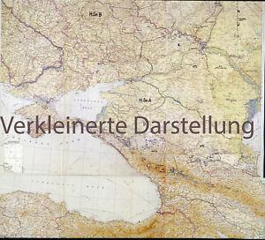 Heereskarten-Lage-der-Heeresgruppen-Nord-Mitte-A-B-von-September-November-1942