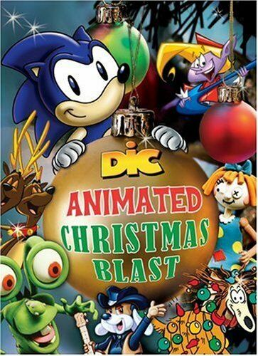 Sonic Christmas.New Dic Animated Christmas Blast Sonic The Hedgehog 2 Dvd Set