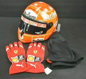 Schuberth-FR1-Size-2-Marlboro-Schumacher-Replica-Formula-1-Racing-Helmet-Rare