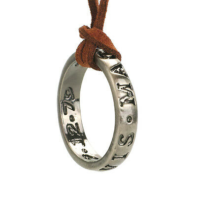 Uncharted Halskette Kette Necklace mit Francis Drake Ring Anhänger Cosplay