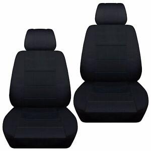 Fits-2012-2016-Suzuki-Jimny-front-set-car-seat-covers-black