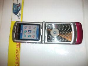 Motorola Razr V3r Rosa Virgin Mobile Uk Bloqueado Telefono Movil Ebay