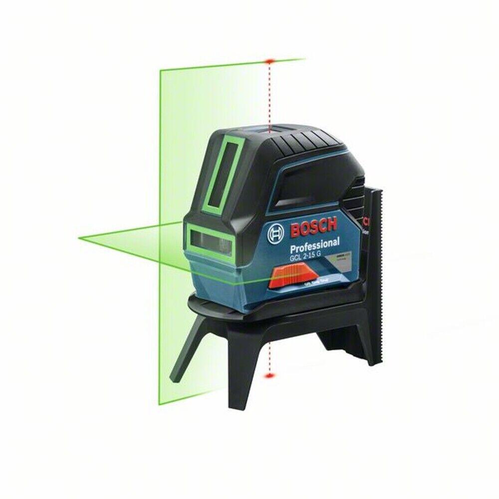 Bosch Kombilaser GCL 2-15 G Grün Punkt und Linienlaser