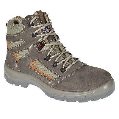 Portwest FC52 Composite lite Reno Low Cut Safety Boots S1P Plastic Toe Cap Beige