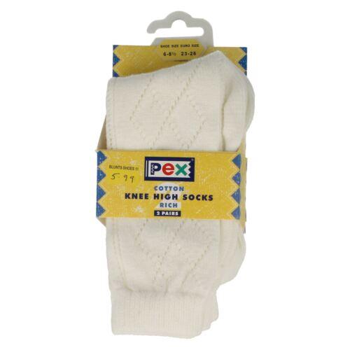 Girls PEX /'Patterned Knee High Socks/'