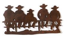 Western Metallschnitt Cowboys Deko Welcome Wild West Cowgirl Wand Bild
