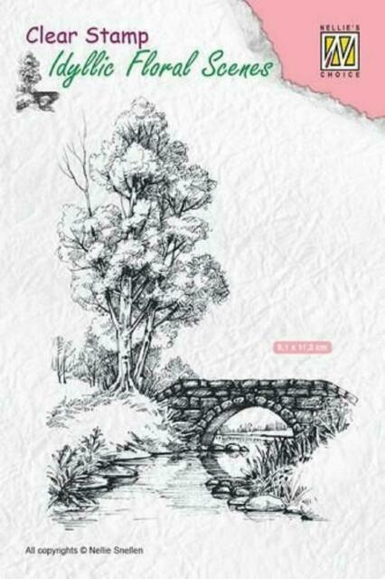 Nellie Snellen Clear Scene IFS010 UNMOUNTED Winter2 stamp