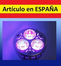 BOMBILLA 3W ULTRAVIOLETA E27 billetes falsos discotecas fiesta luz negra UV LED