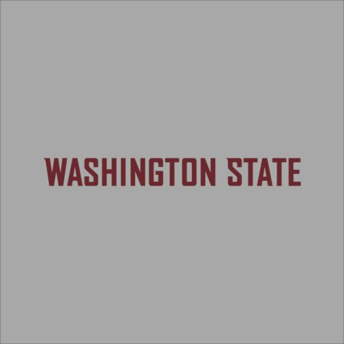 Washington State Cougars #2 NCAA College Vinyl Sticker Decal Car Window Wall