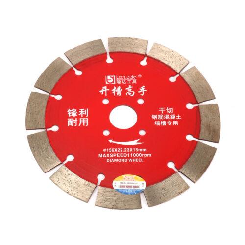 Lame de scie diamant Céramique Marbre pour outil de coupe béton granit 6 in environ 15.24 cm
