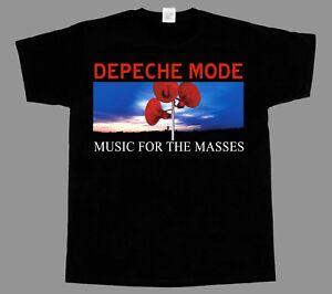 DEPECHE-MODE-MUSIC-FOR-THE-MASSES-SHORT-LONG-SLEEVE-NEW-BLACK-T-SHIRT