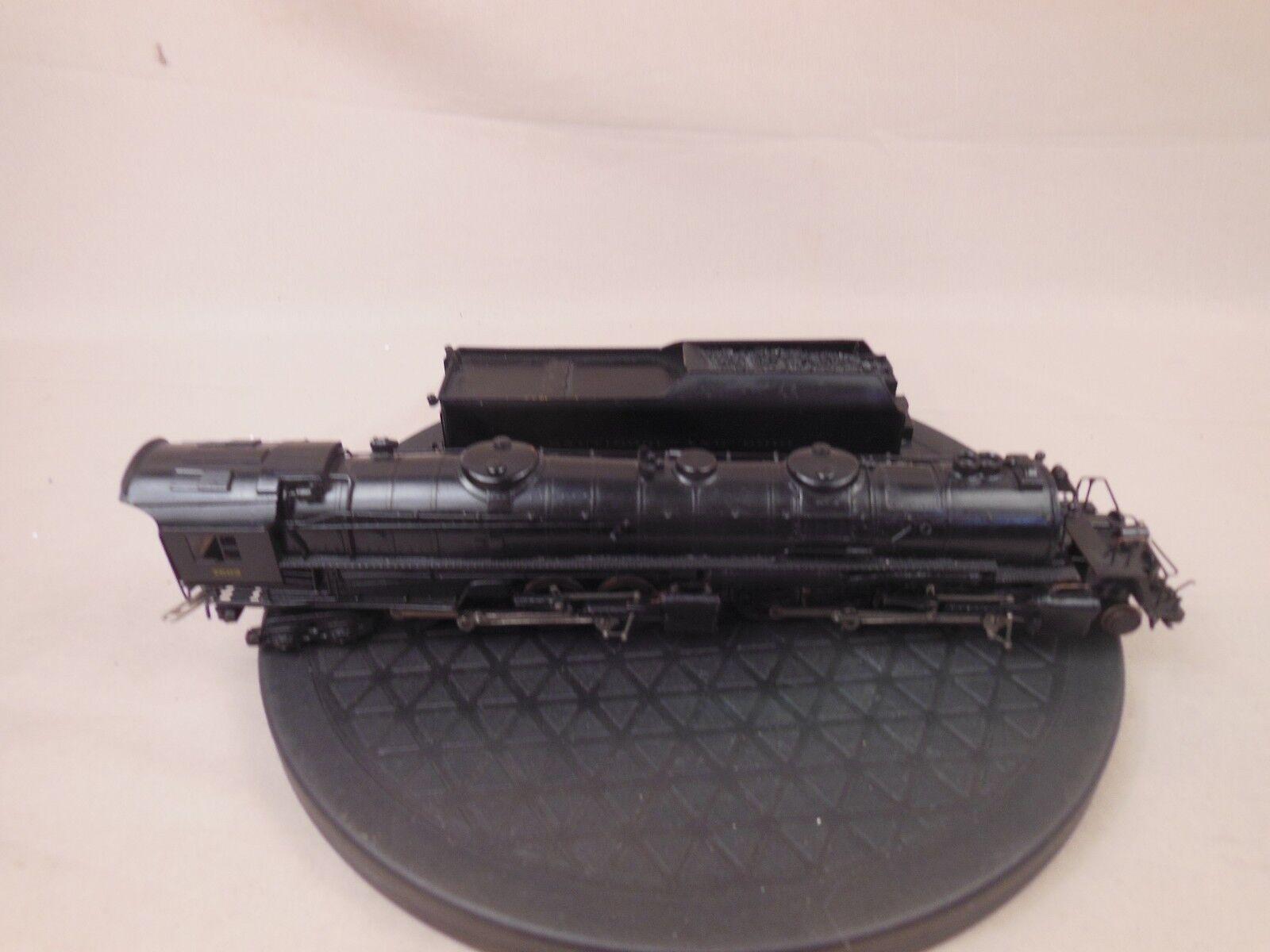 Latón réplica en escala HO Baltimore & Ohio EM-1 2-8-8-4 Locomotora articulada