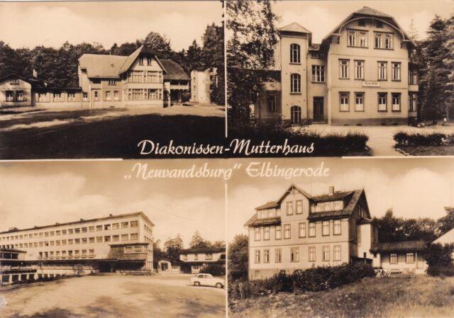 Elbingerode , Diakonissen-Mutterhaus ,DDR,Ansichtskarte