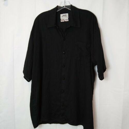 FLAX Jeanne Engelhart M Shirt Black Linen Lagenloo