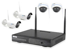 WLAN Überwachungsset FUNK Kamera Domekamera Überwachungskamera Hausüberwachung