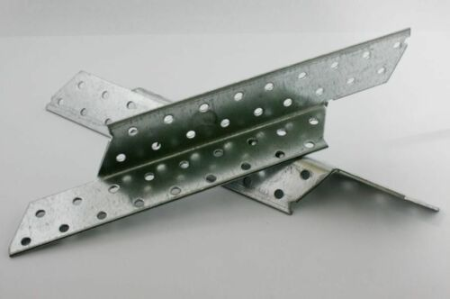 Sparrenpfettenanker 250mm links /& rechts verzinkt 50 Stk. 0,59€//Paar