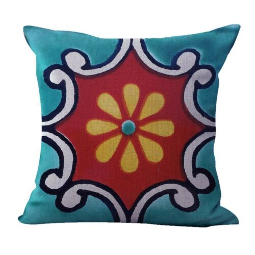 20pcs cushion covers geometric Mexican talavera outdoor pillow covers