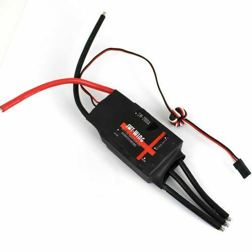 Skywing 200A Brushless ESC with 5V//3A BEC for RC Airplane Fixed-wing