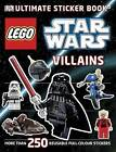 LEGO Star Wars Villains Ultimate Sticker Book by DK (Paperback, 2011)