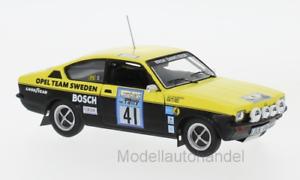 Opel Kadett C GT E Opel Team Sweden, Rallye WM 1976 - 1 43 IXO  NEW