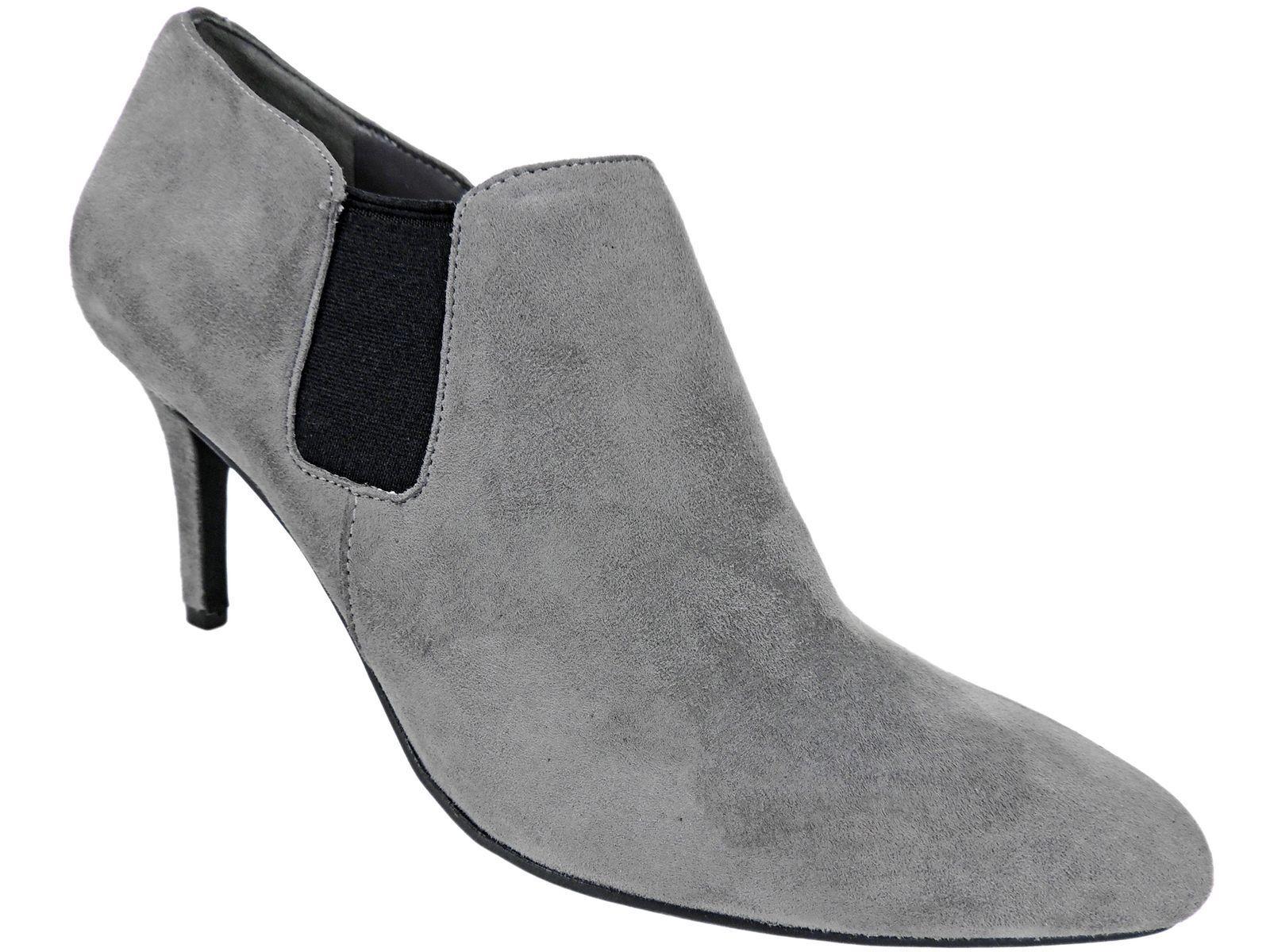 Cole Haan para mujer Maxfield Botines gris botas De Gamuza Gamuza Gamuza 8 Nuevo En Caja  gran descuento