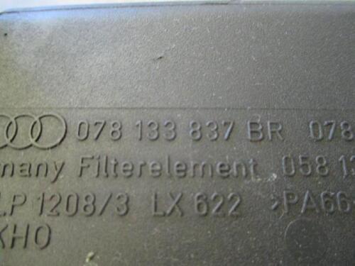 Filtro de aire recuadro audi a6 4b 2.7 v6 bi-turbo 078133837br AjK aza filtro de aire