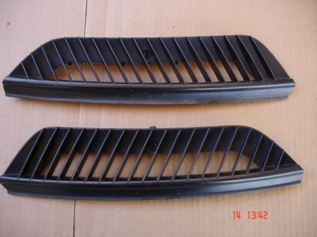 griglia esterna smart fortwo cc.600//700//800 nera dal 1998 al 2006  dx o sx
