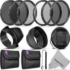 Foto-58MM-Altura-Kit-de-Filtro-UV-ND4-Polarizador-Circular-Densidad-Neutra-Filtro-establecido-amp