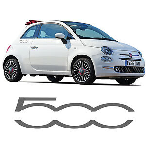 fiat 500 logo side skirt stickers 500c decal abarth sporting graphic stripe ebay. Black Bedroom Furniture Sets. Home Design Ideas
