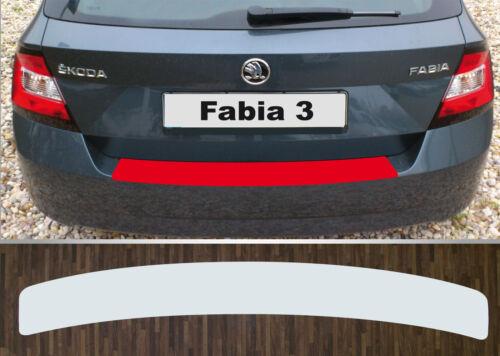 Lackschutzfolie Ladekantenschutz transparent Skoda Fabia 3 Limousine ab 2014