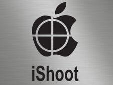 iShoot Clay Pigeon Sport Shooting Hunting Vinyl Window Stickers Decals Van 4x4