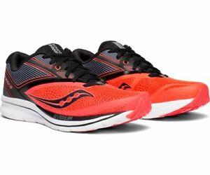 5013d915 Details about Saucony Kinvara 9 Men's Running Shoe Viz Red/Black, Size 7.5 M