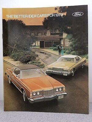Ford Better Idea for Cars 1970 Stockholder/'s Brochure Mustang Falcon Cougar etc