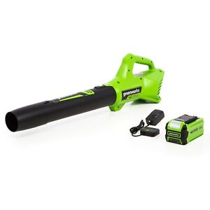 Greenworks 2412002  40V Axial Blower 2.0Ah Battery and Charger Included