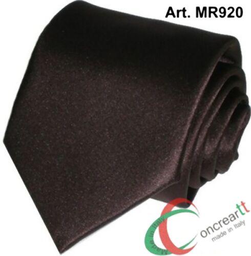 Cravatta o cravattino tinta unita rossa blu grigia bordò alta qualità italiana