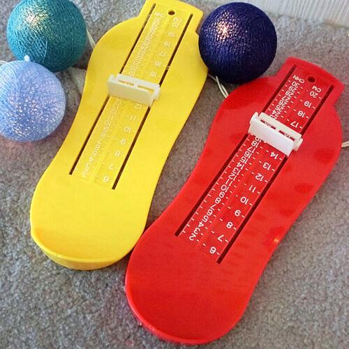 1 Pcs Neues Kleinkind-Baby-Fußmessgerät Kinderschuhmaß Neu B9D6